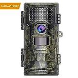 [Neue Version] Wildkamera 20MP Native 1080P Full HD Nachtsichtkamera mit Bewegungsmelder 20m Nachtsicht Jagdkamera mit 2,4 Zoll LCD Display Infrarot 42 IR-LEDs