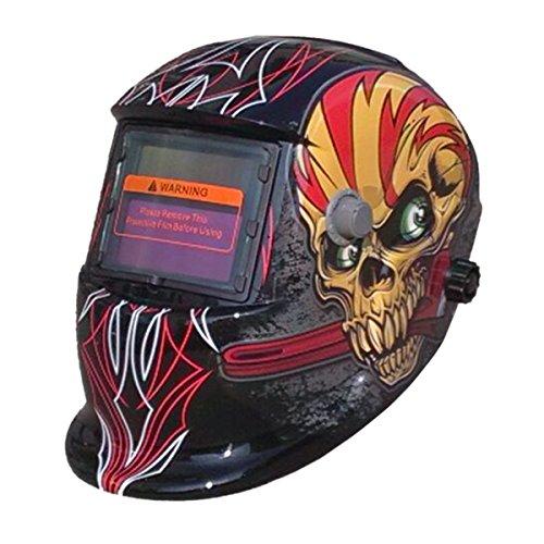 Valianto Auto-Darkening Solar Welder Mask Skull Welding Helmet KLT-CSJ by Valianto
