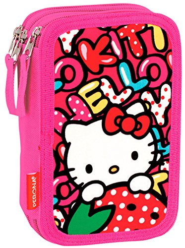 Estuches Multicolor Hello Kitty