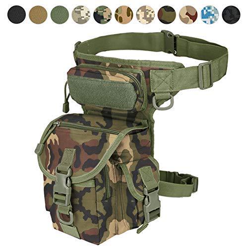 pour Paintball Versipack Maxtra Sacoche Tactique Militaire pour Jambes Bleu Marine Motocyclette 7 Couleurs Airsoft Noir//Marron//Vert arm/ée//Camouflage