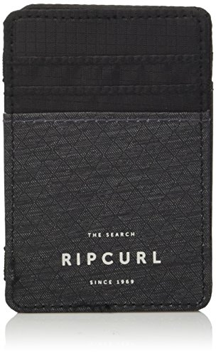 Black Magic Wallet (Rip Curl Damen Stacka Magic Wallet Geldbörse, Black 2k, 1SZ)