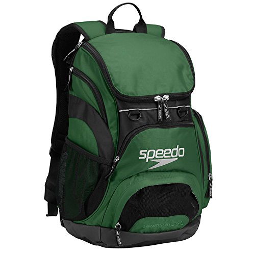 Speedo Teamster Mochila, Unisex Adulto, Verde (Forest Green), 35 l