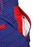 """New York Giants NFL """"Dots"""" Men's Casual Polyester Walking Shorts - 4"""