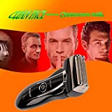 Kemei Electric Rechargeable Dual-Blade Shaver For Men (Silver)