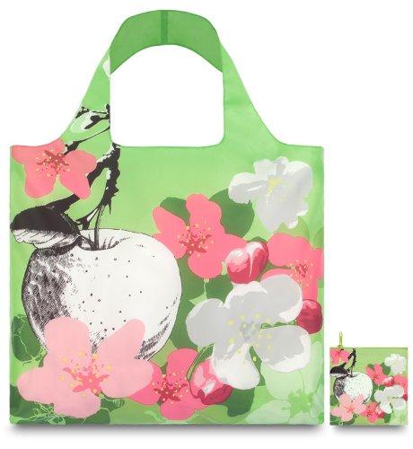 Loqi Prima Pr.Bl Designer Sac de courses Motif fleur