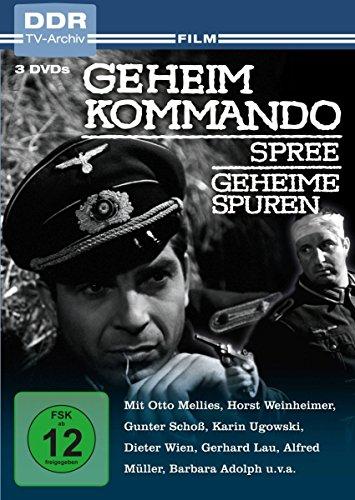 Geheimkommando Spree/Geheime Spuren (DDR TV-Archiv) (3 DVDs)