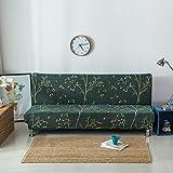 cnfq Matratzenschonbezüge Schlafsofa Wohnzimmer Decke ausziehbar ohne Armlehnen grün