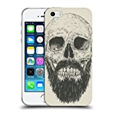 Head Case Designs Officiel Balázs Solti Barbe n'est Pas Morte Crânes Étui Coque en Gel Molle pour iPhone 5 iPhone 5s iPhone Se