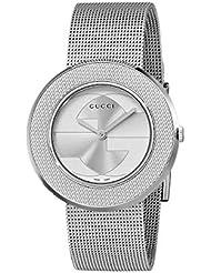 Gucci Damen-Armbanduhr U PLAY Analog Quarz Edelstahl YA129407