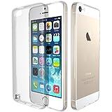 iPhone SE H�lle, KingShark TPU Schutzh�lle Ultrad�nn Weich Flexibel Silikonh�lle f�r iPhone SE/5s/5 (transparent)