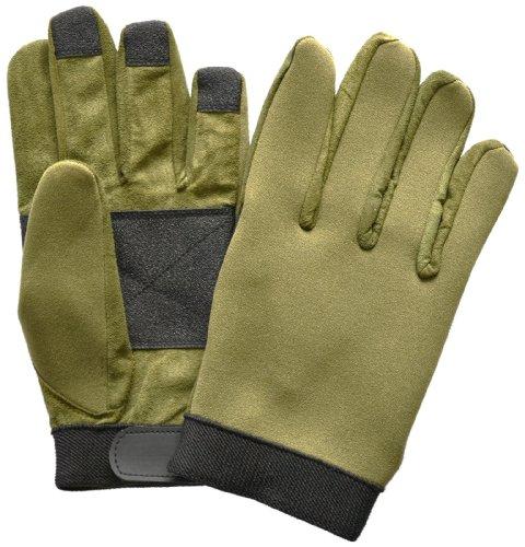 Tactical Neopren Einsatzhandschuhe mit verstärkten Griffflächen und Klettverschluss