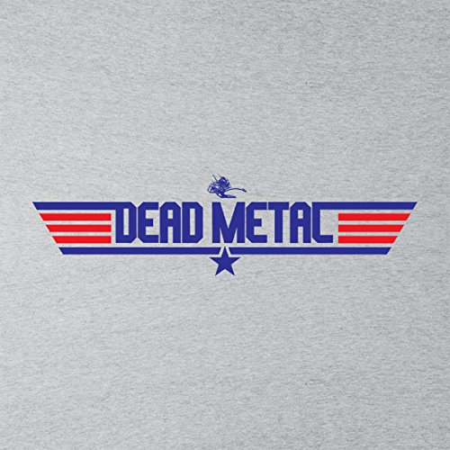 Robot Wars Dead Metal Top Gun Men's Vest Heather Grey