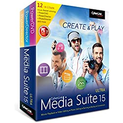 CyberLink Media Suite 15 Ultra - The Most Complete Collection of Award-Winning Multimedia Software (PC)