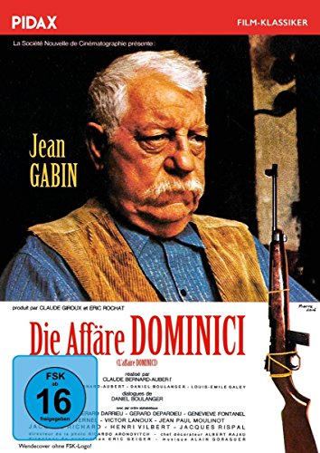 Bild von Die Affäre Dominici (L'affaire Dominici) / Packender Kriminalfilm mit Jean Gabin und Gérard Depardieu nach einer wahren Geschichte (Pidax Film-Klassiker)