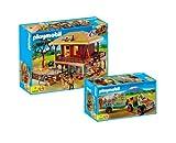 PLAYMOBIL® - Wildtierpflegestation 4826 und Rangerfahrzeug mit Nashorn 4832
