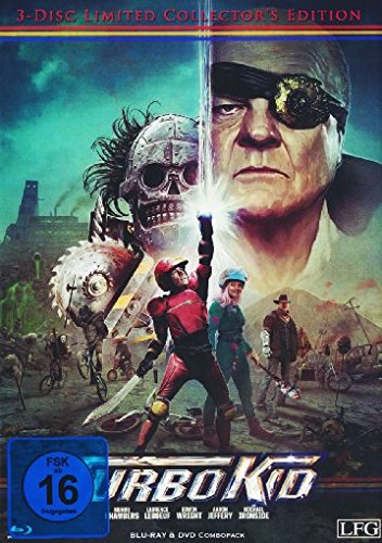 Turbo Kid  (+ DVD) (+ Bonus-DVD) [Blu-ray] [Limited Collector's Edition]