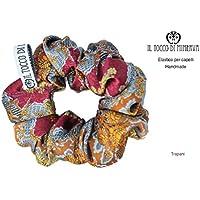 Elastico in seta per capelli Trapani - Realizzato a Mano - HandMade - regali bambina regali ragazza - Prodotto Artigianale - idee regali originali - regali di natale - regali per lei - natale