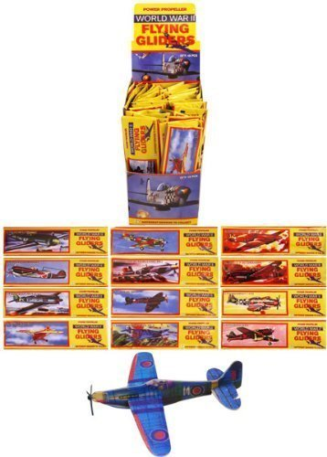 24-Flying-Glider-Planes-Party-Bag-Fillers-Childrens-Toys-Game-Prizes