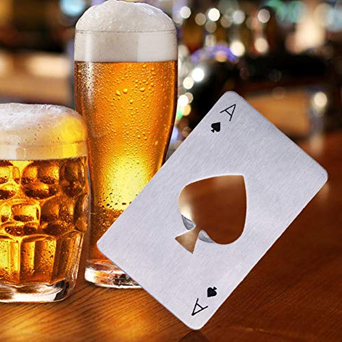 PRO365 Casino Poker Bottle/Bar/Beer/Soda Steel Opener Credit Card Size