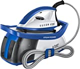 Russell Hobbs 24430 Power 95 Station, Series 2 Steam Generator, 2600 W, 1.3 Litre, Blue and White