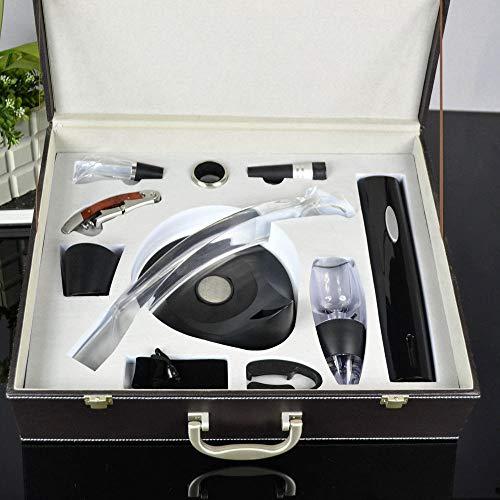 Elektrischer Flaschenöffner Trockenbatterie Edelstahl Serie Flaschenöffner 11-teiliges Set