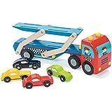 Le Toy Van : Coche de carreras : Vehículo de transporte