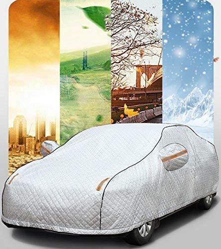 Anti-Vereisung Car Cover 4 Layer Wasserdicht Kompatibel Mit Hafer Atmungsaktiv Kratzfest Benutzerdefinierte Baumwollfutter Full Car Cover Bei Jedem Wetter,F7x -