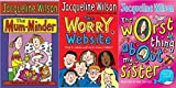 Sisters and Stars 3 Book Collection: The Worry Website, The Worst Thing About My Sister, The Mum-Minder by Jacqueline Wilson (6-Jul-1905) Paperback