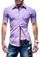 BOLF - Chemise casual - à manches courtes - MODELY 004D - Homme