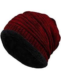 Amazonit Cappello Uncinetto Uomo Abbigliamento