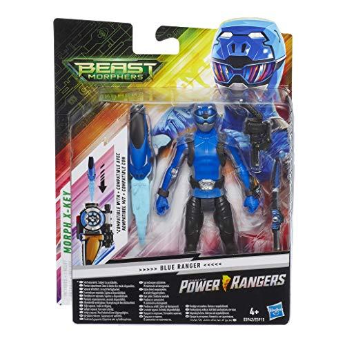 Power Rangers Beast Morphers - Figurine du Ranger Bleu - 15 cm - Jouet Power Rangers