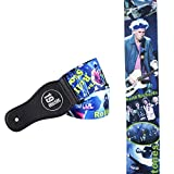 ROLLING STONES Acoustic Electric Bass Adjustable Shoulder GUITAR STRAP Legendary Rock And Roll Classic Cult Band keith richards Ron Wood 60's 60s 70s