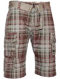 98-86 Short Bermuda Hose mit Gürtel