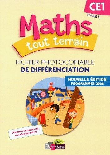 Maths tout terrain CE1 Fichier de différenciation (Éd.2012) de Alfred Errera (Series Editor) (15 mai 2012) Broché