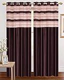 sajaawat ployester curtain set of 2