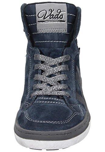 Vado Mädchen Midcut Sneaker Blau