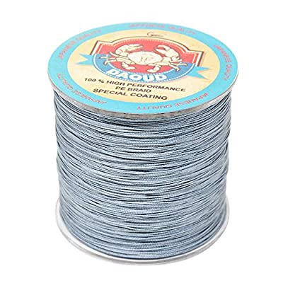 8 Strands Braided Fishing Line 300M (327 Yards) 10lb-108lb Abrasion Resistant, Highly Sensitivity, Zero Stretch and High Performance Fishing Line for Carp, Bass, Trout from Gainning