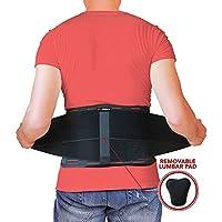 AidBrace Rückenbandage Stützgurt - lindert Schmerzen im unteren Rücken, Ischias, Skoliose, Bandscheibenvorfall... preisvergleich bei billige-tabletten.eu