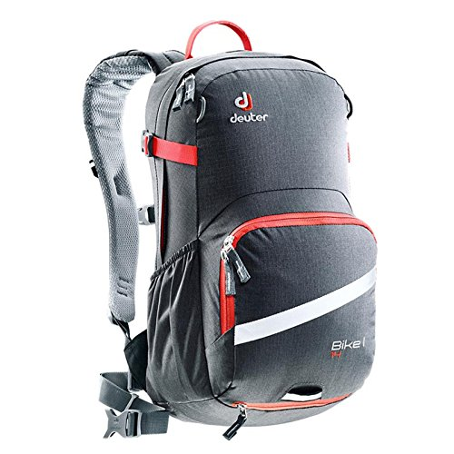 Preisvergleich Produktbild Deuter Bike I 14 Litre Mountain Bike Rucsack Backpack Bag Graphite Papaya
