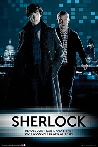 GB eye LTD, Sherlock, Walking, Maxi Poster, 61 x 91,5 cm