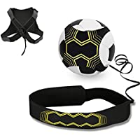 Football Trainer Banda, Mopalwin Football solo Kick Trainer elástica para entrenamiento de fútbol Soccer Skill Trainer Kit for Kids