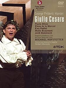 Registrazione live effettuata nel 2004 al Gran Teatre del Liceu di Barcellona; regia di Herbert Wernicke - Considerato tra le opere più affascinante e avvincenti di Händel, il Giulio Cesare viene proposto in questo doppio DVD Video nello splendido al...