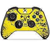 DeinDesign Microsoft Xbox One Controller Folie Skin Sticker aus Vinyl-Folie Aufkleber Borussia Dortmund BVB Fanartikel