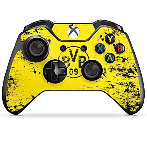 Microsoft XBox One Controller Folie Skin Sticker aus Vinyl-Folie Aufkleber Borussia Dortmund BVB Fanartikel