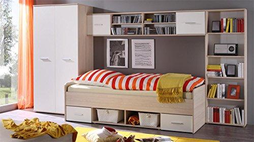 AVANTI TRENDSTORE - Set camera per bambini - ragazzi in quercia Sonoma / bianco d'imitazione