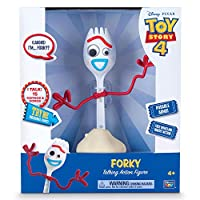 Toy Story 4 Disney Pixar Forky Free Wheeling Talking Action Figure