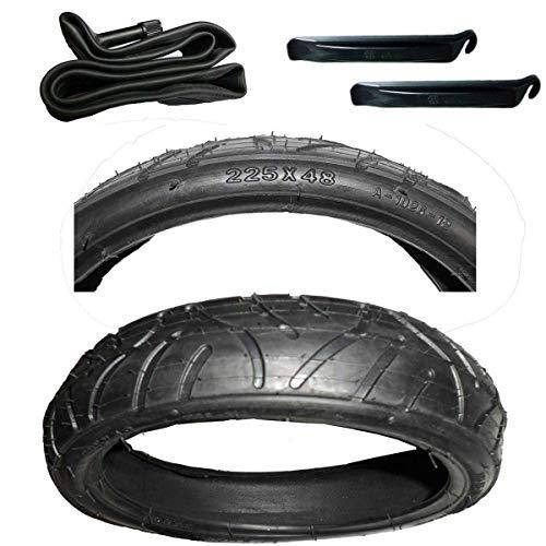 Reifen Mantel 225 x 48 incl. passenden Schlauch und Montagehebel