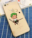 Coquefone Coque iPhone 6/6S Luffy One Piece Roronoa Zoro