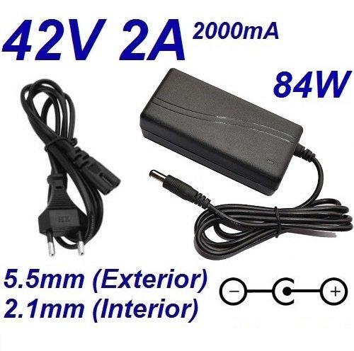 Cargador Corriente 42V 2A 2000mA 5.5mm 2.1mm 84W