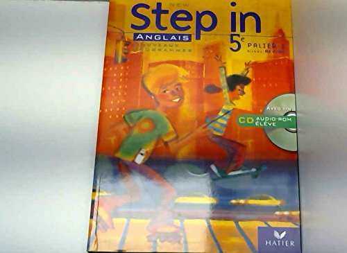 New Step in 5e : Anglais, Palier 1 Niveau A1+/A2 (CD Inclus)